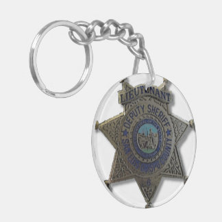 Jerry Pearce - The Radio Detective Badges Keychain
