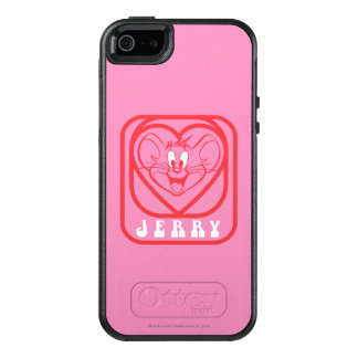 Jerry Pink Hearts OtterBox iPhone 5/5s/SE Case