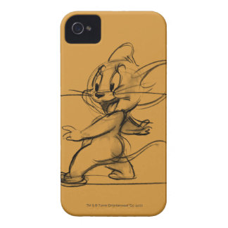 Jerry Side Sketch iPhone 4 Covers