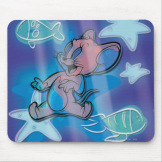 Jerry Trippy Fish Mouse Mat
