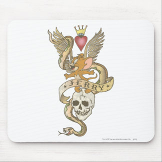 Jerry Twisted Tattoo 2 Mouse Pad