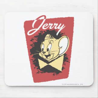 Jerry Yellow Botiw Logo Mouse Pad
