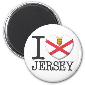 Jersey 6 Cm Round Magnet