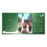 Jersey and Chase Merry Christmas Personalized Photo Card