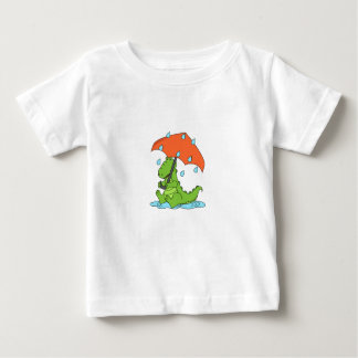 Jersey Baby Boys T-Shirt - Alli the Alligator