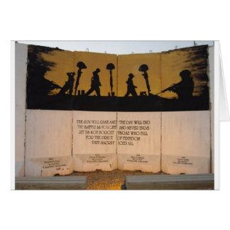 Jersey Barrier Memorial/Garfield Quote Card