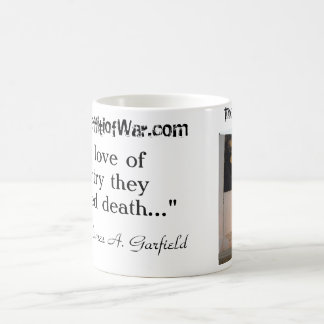 Jersey Barrier Memorial/Garfield Quote Coffee Mug