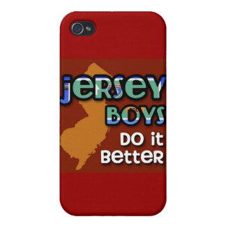 Jersey Boys Do It Better iPhone 4/4S Cover