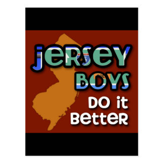 Jersey Boys Do It Better Postcard