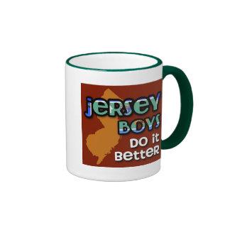Jersey Boys Do It Better Ringer Mug