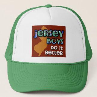Jersey Boys Do It Better Trucker Hat