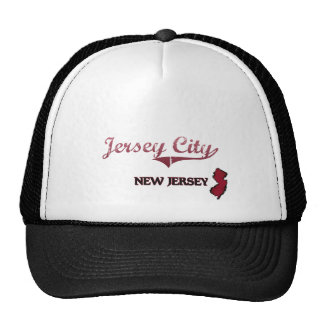 Jersey City New Jersey City Classic Trucker Hats