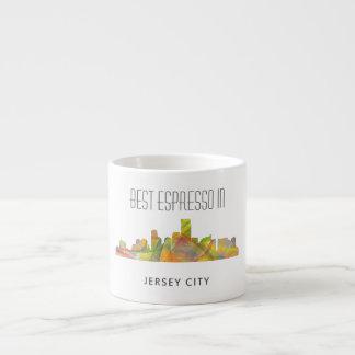 JERSEY CITY, NEW JERSEY SKYLINE WB1 - ESPRESSO MUG
