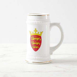 Jersey Coat Of Arms Beer Steins