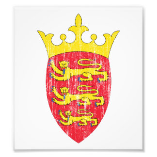 Jersey Coat Of Arms Art Photo