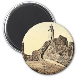Jersey, Corbiere Lighthouse, III, Channel Islands, Magnet