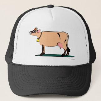 Jersey Cow (dark) Trucker Hat