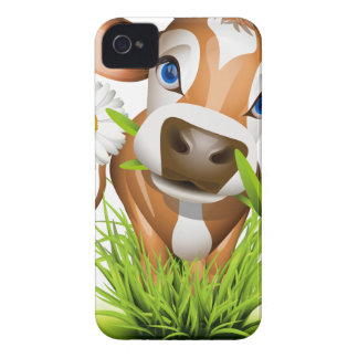 Jersey cow in grass iPhone 4 Case-Mate case