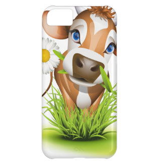 Jersey cow in grass iPhone 5C case