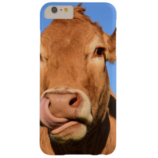 Jersey Cow Licking its Nose Barely There iPhone 6 Plus Case