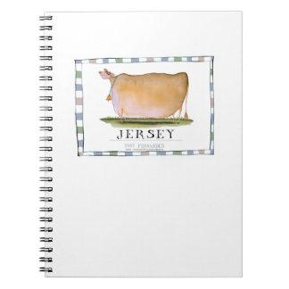 jersey cow, tony fernandes notebook