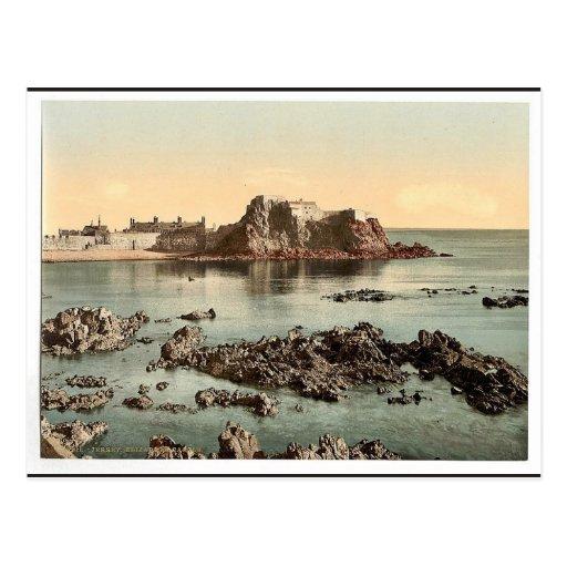 Jersey, Elizabeth Castle, St. Heliers, Channel Isl Post Cards