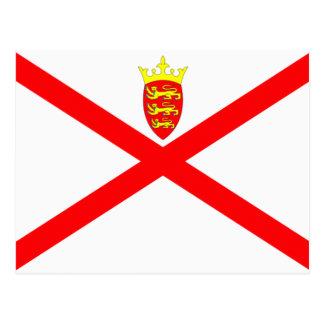 Jersey Flag Postcard