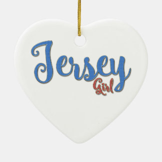 Jersey Girl Diamond design Christmas Ornament