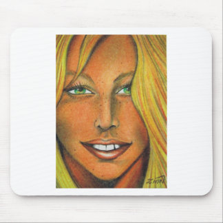 Jersey Girl Mouse Pad