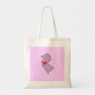 Jersey Girl Tote Bag Canvas Bag