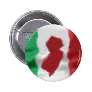 Jersey Italian Pride 6 Cm Round Badge