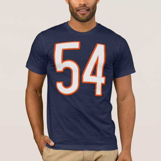 Jersey Number 54 T-Shirt