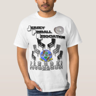 Jersey Pinball Association PinGolf T-Shirt