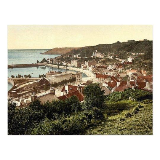 Jersey, Saint Aubins, Channel Islands, England vin Postcard