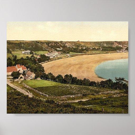 Jersey, Saint Brelades Bay, Channel Island, Englan Print