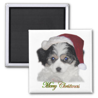 Jersey Santa Christmas Magnet