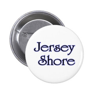Jersey Shore blue 6 Cm Round Badge