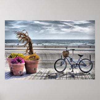 Jersey Shore Boardwalk   HDR Poster