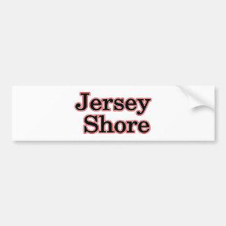 Jersey Shore Car Bumper Sticker
