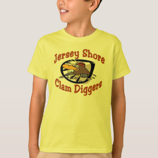 Jersey Shore Clam Diggers T-Shirt