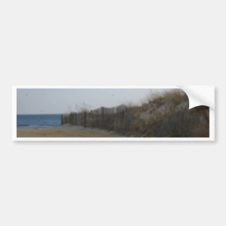 Jersey Shore Softened Beach Bumper Sticker