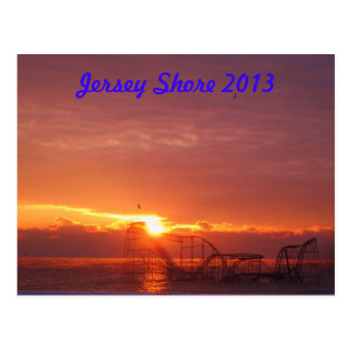 Jersey Shore Sunrise Postcard