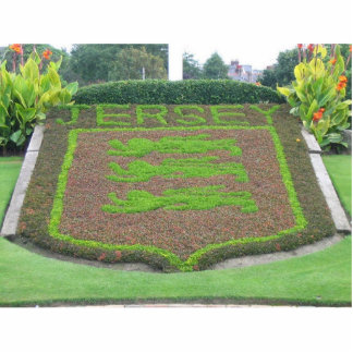 Jersey Sign From Flowers In The Park Cut Out