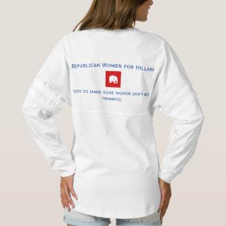 jersey spirit shirt - Republican Women for Hillary