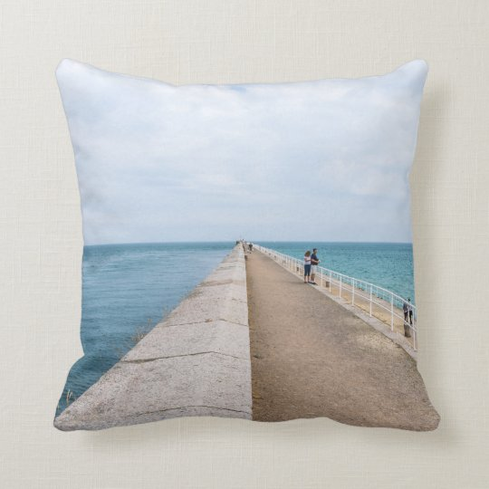 Jersey St.Catherine's Breakwater throw cushion