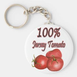 Jersey Tomatoes 100% Key Ring