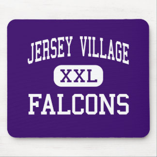 Jersey Village - Falcons - High - Houston Texas Mouse Pad