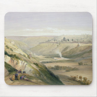Jerusalem, April 5th 1839, plate 18 from Volume I Mouse Pad