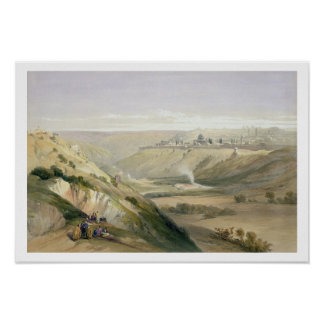 Jerusalem, April 5th 1839, plate 18 from Volume I Posters