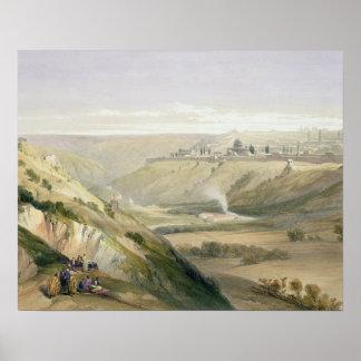 Jerusalem, April 5th 1839, plate 18 from Volume I Poster